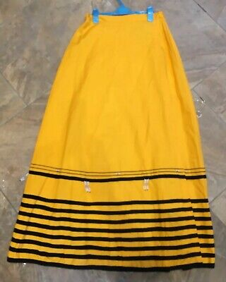 Vintage Late 1970s Ciskei South African Traditional Long Skirt