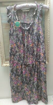 NWT Womens OLD NAVY 2pc Sz Small/Tall Floral Dress