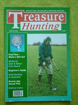 Treasure Hunting - March 2002 - Medieval Gold & Silver Coin Hoard