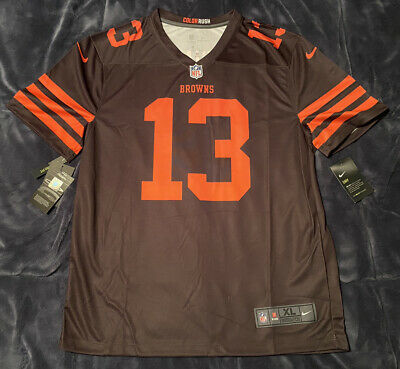 reputable site 39046 16cc5 ODELL BECKHAM JR Cleveland Browns Color Rush Jersey Mens ...