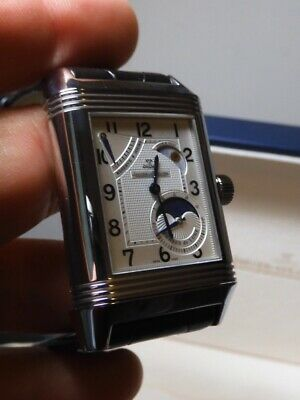 Jaeger LeCoultre Reverso Day Night moon phase Grand Date power reserve 240827