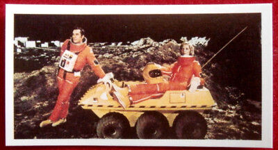 SPACE 1999 - Card #043 - MOONBASE ALPHA - BASSETT, 1976