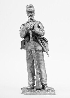 Private of the Federal Army, 1861-1865. Tin toy soldier 54mm