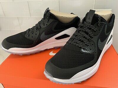 New Nike Air Zoom 90 IT Golf Shoes Spikeless Black Oreo 844569-001 Men's Sz 13