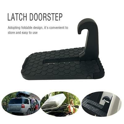 Car Latch Doorstep Ladder Rooftop Aluminum Silicone for SUV Off-Road Vehicle