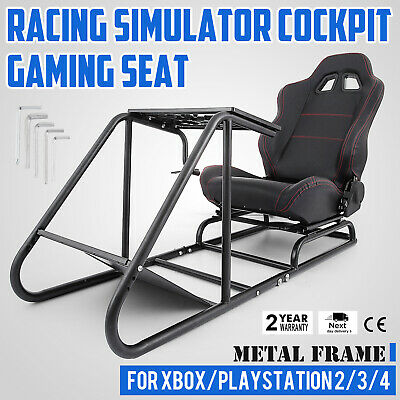Racing Simulator Cockpit Gaming Chair With Steering Wheel Stand For XBOX G920
