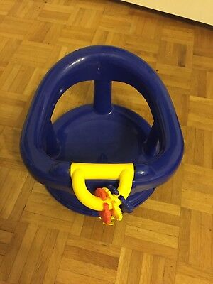 Baby Bath Seat Swivel Support Safety 1st Newborn Infant Tub Water Pad Primary