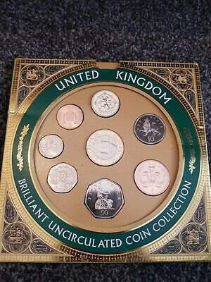 United Kingdom Brilliant Uncirculated Coin Collection, 1999 £2 pound Rugby