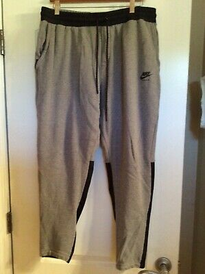 acde7fec00 NIKE AIR JOGGER size Small S Men's 802646-071 Charcoal Heather Grey ...