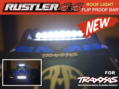 Skid plate 4 // 3x12 CS orang for Rustler 4x4 by Traxxas TRA6728T roof body