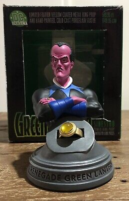 DC Comics DC Direct Green Lantern Sinestro Bust With Yellow Ring
