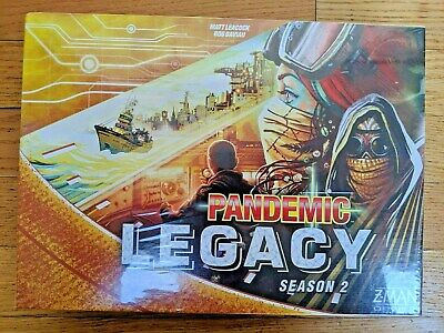 Contemporary Manufacture Pandemic Legacy Season 2 Yellow new Factory Sealed
