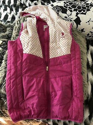 polo ralph lauren girls jacket Age 10-11 Hot Pink