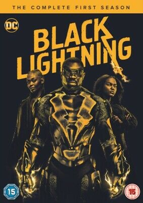 Black Lightning: The Complete Season One (1) (DVD 3 DISC BOX SET, 2018) *NEW*