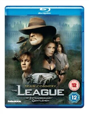 The League of Extraordinary Gentlemen (BLU-RAY, 2003) *NEW/SEALED* FREE P&P
