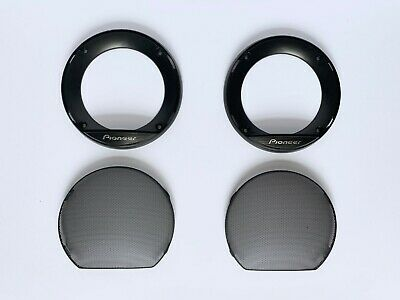 "Pioneer 4"" Inch 10cm Car Front/Rear Door Speaker Replacement Covers Grills ONLY"