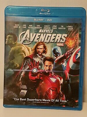The Avengers (Bluray, DVD, 2012, Marvel) Canadian