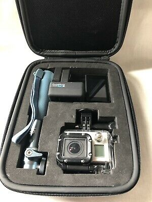 GoPro HERO3+ Black Edition Action Camcorder Kit with lots of accessories