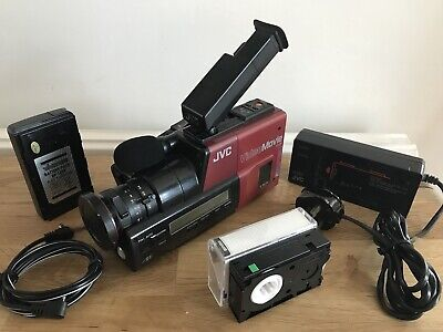 VINTAGE JVC GR-45E VIDEO MOVIE CAMCORDER VHS-C - 1980's BACK TO THE FUTURE PRO