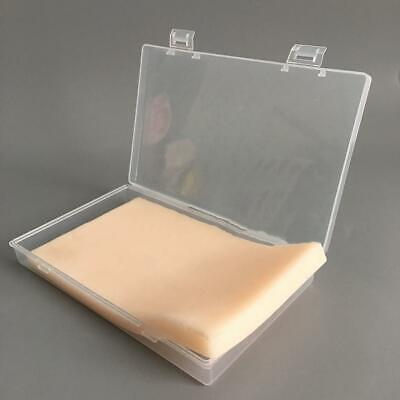 Medical Surgical Incision Silicone Suture Training Practice Human Skin Model