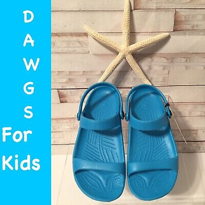 980625511af37 DAWGS Youth Girls Summer Sandals Arch Support Kids Lightweight Soft Shoes  Size 1
