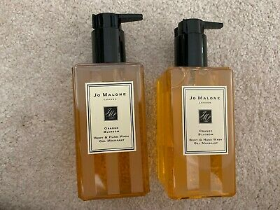 Jo Malone Orange Blossom 2 X 250Ml Body & Hand Wash New