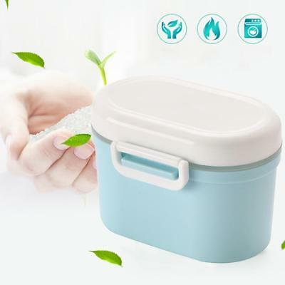 High Capacity Portable Milk Powder Dispenser Baby Storage Snack Box-Containers