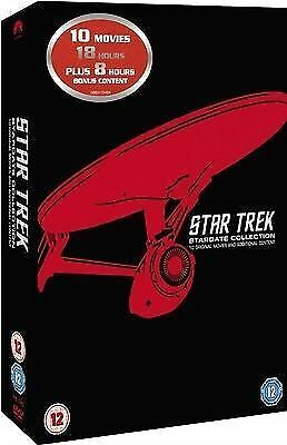 Star Trek: Stardate Collection - The Movies 1-10 (Remastered) [DVD New Sealed