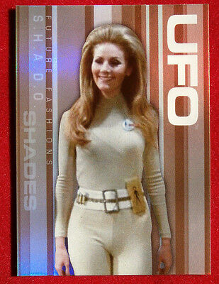 Gerry Anderson's UFO - FUTURE FASHIONS Chase Card FF007 - Holo Foil - Cards Inc