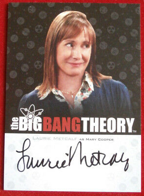 THE BIG BANG THEORY - LAURIE METCALF as Mary Cooper - Seasons 3/4 Autograph Card