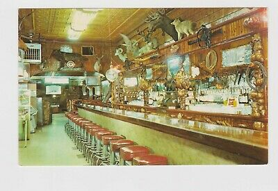 The Mint Bar and Cocktail Lounge .. Sheridan Wyoming Postcard