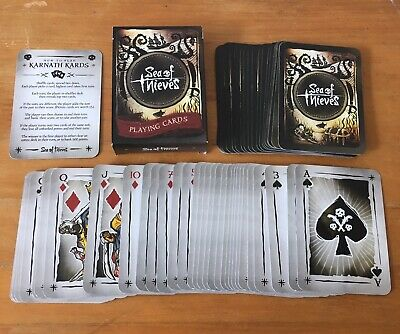 Sea of Thieves OFFICIAL Playing Card game Complete