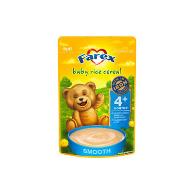 NEW Farex Rice Cereal Baby 125g Baby Food Rice Cereals for Infants