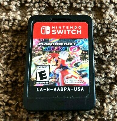 Mario Kart 8 Deluxe - Nintendo Switch - Ships Free! Works Great
