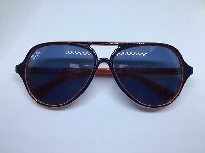 RAY BAN RJ9049S aviator occhiali da sole bambino kids blue orange sunglasses