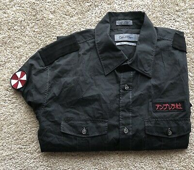 Resident Evil Afterlife Prop Umbrella Trooper Shirt With Patches COA