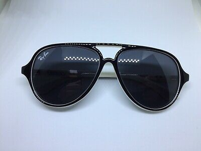 RAY BAN RJ9049S aviator occhiali da sole bambino kids black white sunglasses