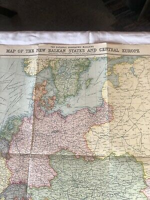 Central Europe Map on