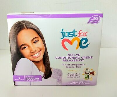 a5b2b7f4c JUST FOR ME No-Lye Regular Conditioning Creme Relaxer Kit 1 ea (Pack ...