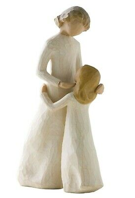 New Willow Tree Mother & Daughter Figurine 26021 Mum Girl in Branded Gift Box