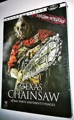 Dvd Texas Chainsaw (Massacre A La Tronconneuse) (2013)