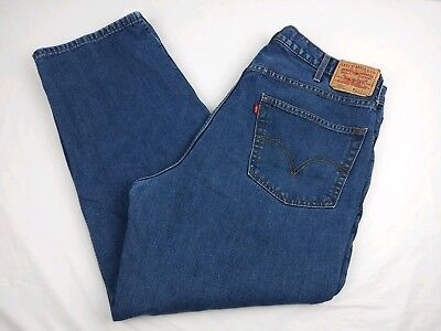 Levi's 550 Heavy-duty Lined Work Jeans Men 40W/30L Relaxed Fit Cotton Pant