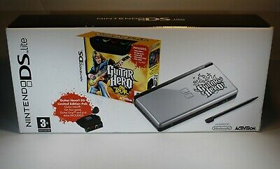 Nintendo DS Lite Guitar Hero: On Tour Special Edition. Boxed and Complete. VGC