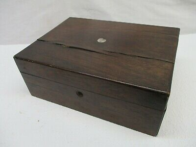 Antique Dressing/Sewing Box, Mother Of Pearl, Vintage