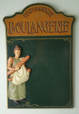 RARE Patisserie Boulangerie Wooden Sign Wood Rustic French Kitchen Decor Bakery