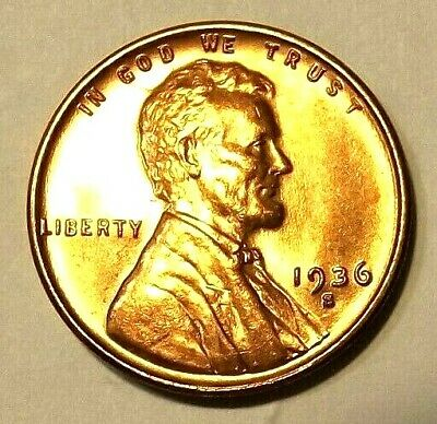 """1948-D Lincoln Wheat 1c~CHOICE BU//RD/""""Original Mint Luster/""""from OBW roll.99 SHIPS"""