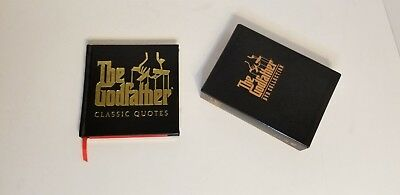 The Godfather Collection 5 Disk Set, Pacino, DeNiro and Book of CLASSIC QUOTES