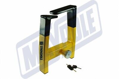 Stronghold Atlas Auto wheel clamp SH5439. Sold secure gold insurance approved