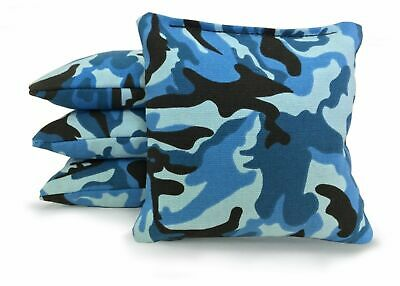 Camouflage-Set of 8 Regulation Size Corn Hole Bags - Top Quality! -Corn Filled!