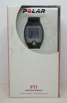 Polar FT1 Heart Rate Monitor Watch Waterproof New Open Box!
